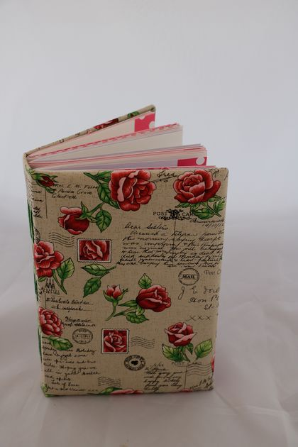 Rose themed journal