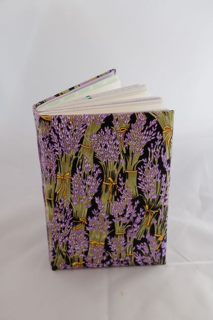 Lavender themed journal