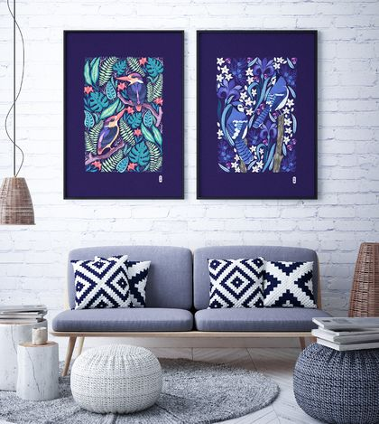 2 x A2 Fine Art Giclee Print of your choice