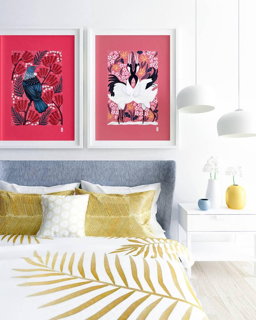 2 x A2 Fine Art Giclee Print of your choice