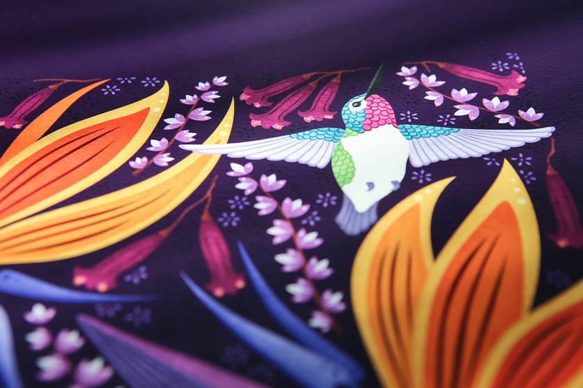 A1 Hummingbirds in Summer — Fine Art Giclee Print