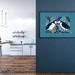 A2 Scottish Puffins in Love — Fine Art Giclee Print