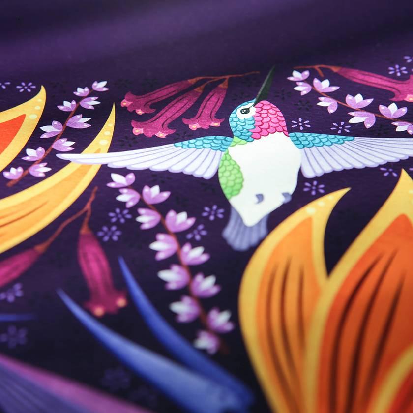 A3 Hummingbirds in Summer — Fine Art Giclee Print
