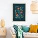 A2 Protea & Kowhai Flowers — Fine Art Giclee Print