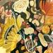 A3 Snake & Wild Flowers — Fine Art Giclee Print