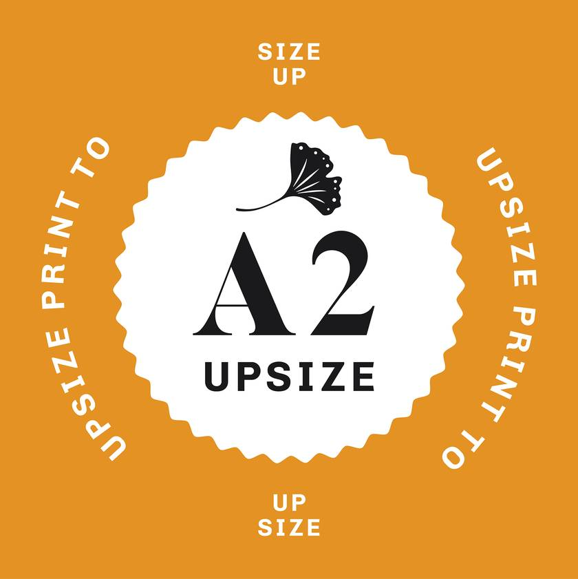 Upsize Your Print to A2