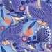 A3 Fantails Dancing in the Kōwhai Tree — Fine Art Giclee Print