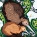 A3 Kiwi & Koru — Fine Art Giclee Print