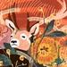A3 Deer in the Morning Light — Fine Art Giclee Print