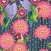 A3 Lovebirds & Cactus in Arizona — Fine Art Giclee Print