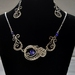 Stirling Silver & Lapis Lazuli Necklace