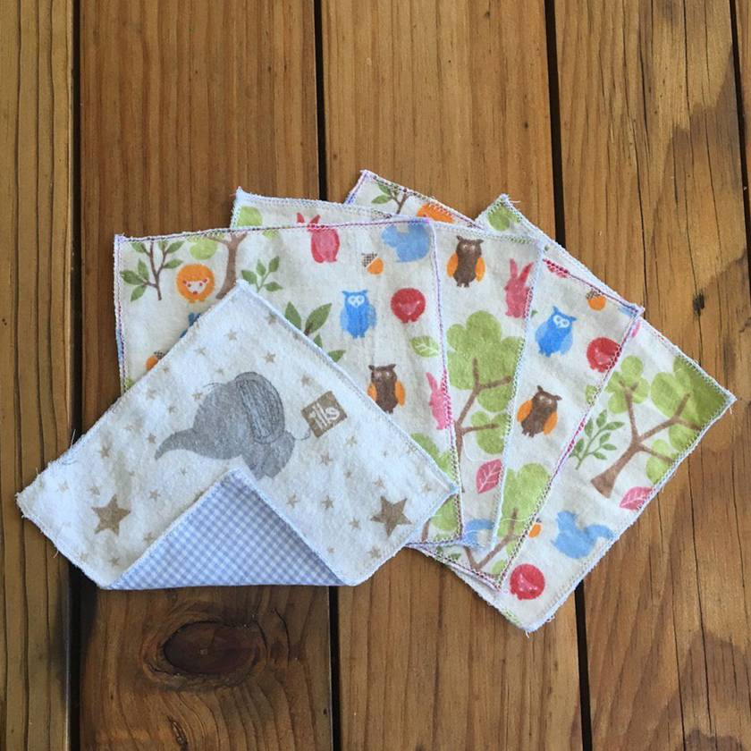 Reusable Wonky Wipes Small - 5 Pack
