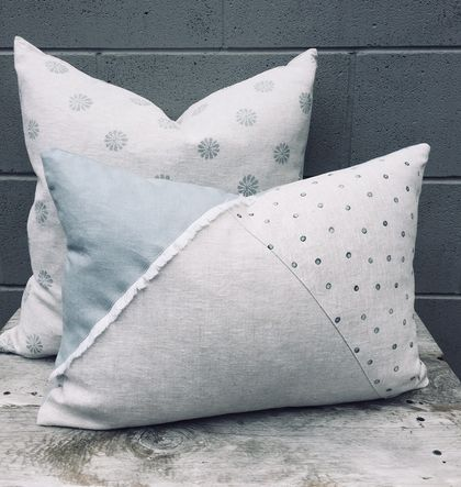 Elliot Linen Cushion Cover  *SALE*