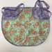 BNWOT Peg Apron Purple Swirls with Turquoise Floral Fabric