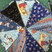 Pirate Themed Bunting 18 Flags, 2.4 metres long with tie ends