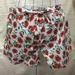 BNWOT Beach, Bed or Anywhere Shorts, 100% Cotton Pohutukawa Scatter Fabric