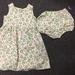BNWOT Handmade Dress Age 1-3 - Strawberry Patch - 100% Cotton