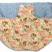 BNWOT Peg Apron Blue Pegs and Washing Line Fabric