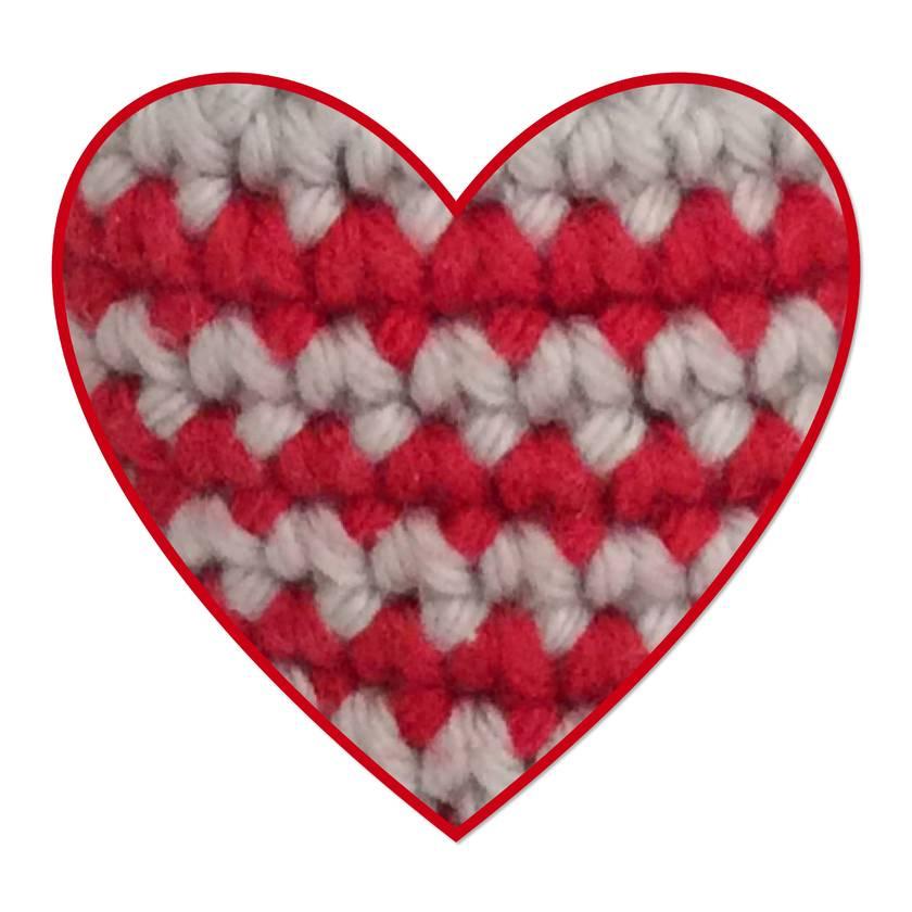 Crochet cat whiskers rattle
