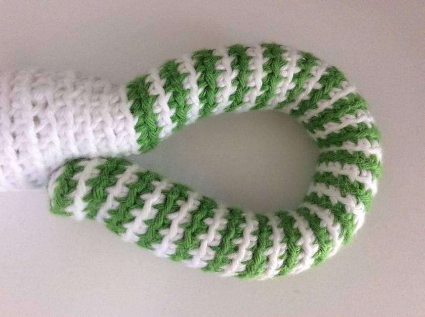Crochet Snake rattle