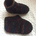 Crochet child slippers
