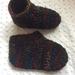 Crochet child slippers