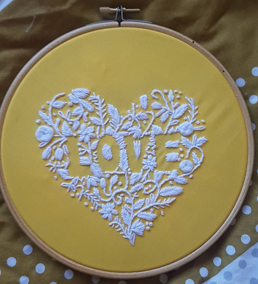 Love Hand Embroidery