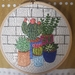 Cactus and Succulents hand embroidery
