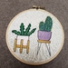 Contemporary Succulents Hand Embroidery