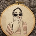 Girl with Sunglasses Embroidery