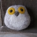 Felted Owl Soap