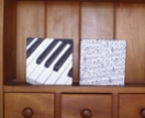 'Piano Keys Canvas Art    Handmade      Art at the Villa