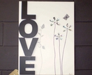 'LOVE'   Original Art        Art at the Villa      New