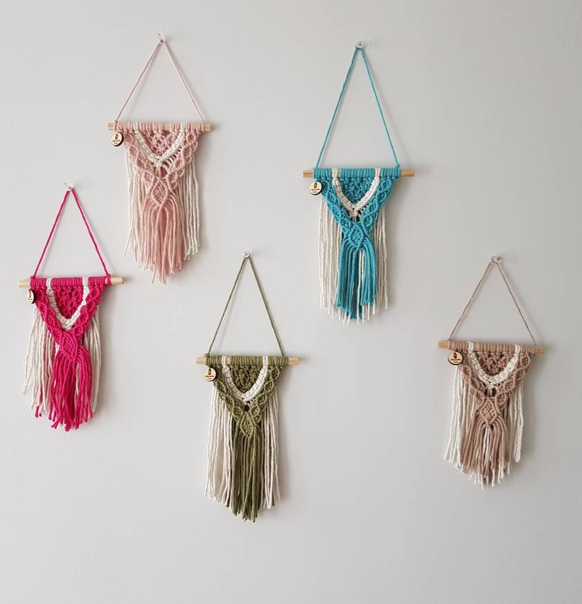 MICRO MINIS Wall Hangings
