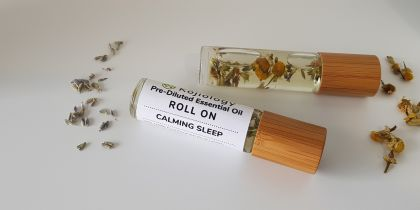 Calming Sleep Essential Oil Roll On, Pre-Diluted 10ml
