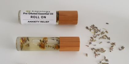 Anxiety Relief Essential Oil Roll On, Pre-Diluted 10ml