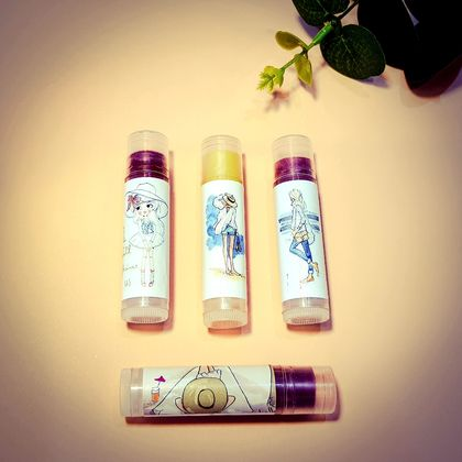 Personalized Label Lip Balm 100% Natural