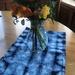 Shibori vintage tray cloth