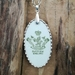 """Newport Pottery"" back stamp pendant - upcycled vintage china P035"