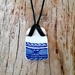 """Antique Blue "" - upcycled china pendant P101"