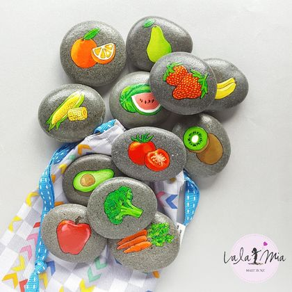 Fruit and Vege Stones