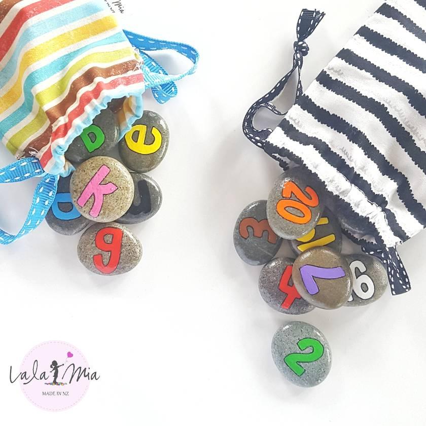 Mini Number Stones