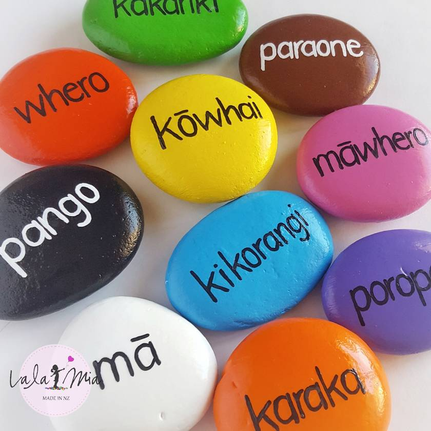 Maori & English Colour Stones