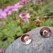 LoveHeart earrings (studs)