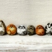 Painted Pebble Dog Pin - Animal Art Brooch - Tiny Painted Rocks Dog Jewellery