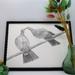 "Kereru Print - ""Kiss and Don't Tell"""