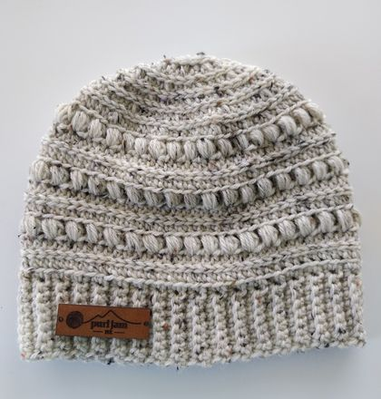 Pure Wool Chunky Knit Beanie