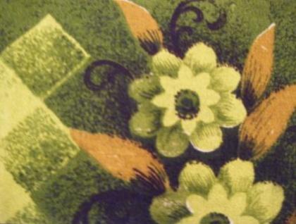 Reto Green Barkcloth Scarf