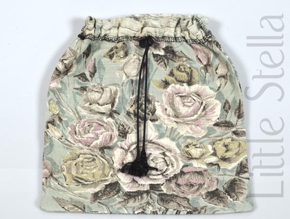 Vintage Fabric Lingerie Bag