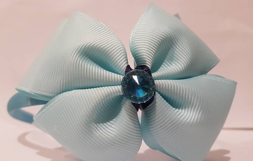Headband with large bows